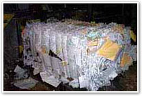 Bale of Paper
